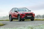 Toyota RAV4 PHEV 2021 wide front cornering