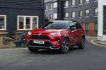 Toyota RAV4 PHEV 2021 front tracking urban