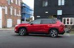 Toyota RAV4 PHEV 2021 left panning urban