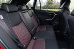 Toyota RAV4 PHEV 2021 rear seats