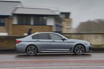 BMW 5 Series 2021 right panning