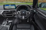 BMW 5 Series 2021 RHD dashboard