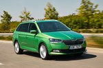 Skoda Fabia Estate 2021 front tracking