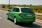 Skoda Fabia Estate 2021 rear tracking