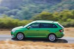 Skoda Fabia Estate 2021 left panning