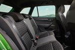 Skoda Fabia Estate 2021 rear seats