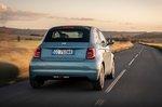 Fiat 500 Cabrio 2021 rear tracking