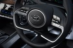 Hyundai Tucson 2021 RHD steering wheel detail