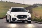 Jaguar XF 2021 front cornering