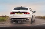 Jaguar XF 2021 rear cornering