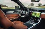 Jaguar XF 2021 front seats