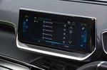Peugeot e-208 infotainment screen