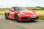 Porsche 718 Boxster 2021 front tracking