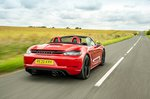 Porsche 718 Boxster 2021 rear right tracking