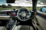 Porsche 911 2021 RHD dashboard