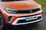 Vauxhall Crossland 2021 RHD front detail