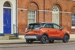 Vauxhall Crossland 2021 RHD rear urban