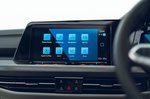 Volkswagen Golf Estate 2021 RHD infotainment
