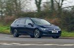 Volkswagen Golf Estate 2021 wide front tracking