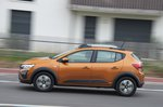 Dacia Sandero Stepway 2021 left tracking