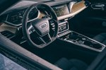 Audi E-tron GT RS 2021 dashboard