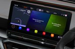 Cupra Formentor 2021 infotainment screen