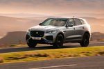 Jaguar F-Pace 2021 front left tracking
