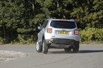 Jeep Renegade rear corner