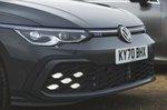 Volkswagen Golf GTE 2021 front detail