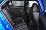 Peugeot e-2008 rear seats