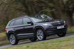 Skoda Kodiaq 2021 front right tracking
