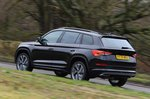 Skoda Kodiaq 2021 rear right tracking
