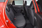 Suzuki Swift rear seats