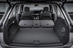 Volkswagen Touareg 2021 boot, seats folded
