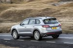 Volkswagen Touareg 2021 left rear tracking