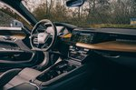 Audi E-tron GT RS 2021 front interior