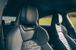 Audi E-tron GT RS 2021 front seats