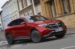 Mercedes EQC 2021 front cornering