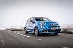 Fiat 500X 2021 front tracking