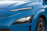 Hyundai Kona Electric 2021 front left detail