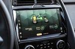 Jaguar E-Pace 2021 infotainment