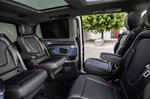 Mercedes EQV 2021 rear seats