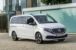 Mercedes EQV 2021 side static