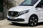 Mercedes EQV 2021 front static
