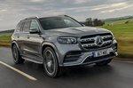 Mercedes GLS 2021 front tracking