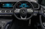 Mercedes GLE 2021 RHD instrument panel