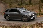 Mercedes GLE 2021 front right panning
