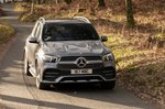 Mercedes GLE 2021 front tracking