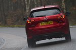 Mazda CX-5 2021 rear cornering