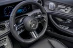 Mercedes E-Class 2021 steering wheel